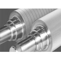 Buy cheap Tungsten Carbide Corrugating Rolls Grinding Shaft Super Wear Resistant product