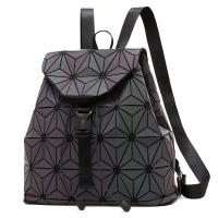Buy cheap WHOLESALES Laser Geometric Backpack China Supplier Holographic Bag PU Leather Fashion Bag Design OEM Bag offer product