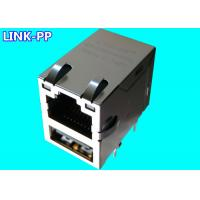 Buy cheap Combo USB Rj45 LPJU3101AHNL 10 / 100Base-T USB-to-Ethernet Modules PC Mainboard product