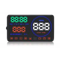 Quality M9 Hud Auto Hud Display Water Temperature Alarm , Multi - Color Speed On Windshield Display for sale