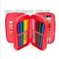 Quality Triple Filled Pencil Case for sale