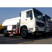 Buy cheap 2 Axles Oil Tanker Truck 10CBM Tank Volume 4600mm Wheel Base 80R22.5 Tire product