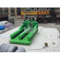 Buy cheap 0.55MM PVC Tarpaulin Double Lanes Jumping Bungee Run Game EN14960 from wholesalers