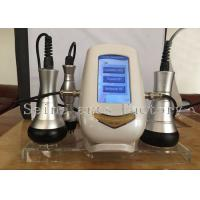 Buy cheap Golden 3 Handles RF Ultrasonic Cavitation Slimmng Beauty Machine CE product