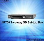 Buy cheap DVB-C two-way SD set top box product