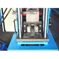 Buy cheap Plc Control System 15m/Min Hat Channel Roll Forming Machine product