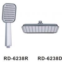 China Complete Bathroom Shower Head Set With Black Matt Washer OEM Accepted Durable on sale