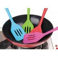 Nonstick Dedicated Silicone Slotted Turner Heat Resistant Silicone Kitchen Gadgets