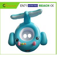 China Eco Friendly PVC Colorful Baby Swimming Ring Toddler Inflatable Boat With Seat on sale