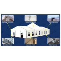 Buy cheap Exhibition Outdoor Event Tent 3m - 30m Width With PVC Walls / Glass Wall product