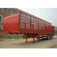 Buy cheap Customized Tractor Trailer Truck 45 Ton 3 Axles Side Wall Trailer Truck product
