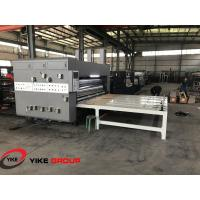 Buy cheap Chain Feed Hd Flexo Printing Slotting Machine Die Cutter Machine With Stacker product
