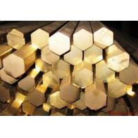 Buy cheap Hex Round Solid Copper Bar Brass Rod Cylindrical With Customized Thickness product