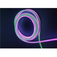 Buy cheap RGB Color Changing Silicone LED Neon Light With 943S Addressable , Neon Strip Lights product