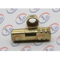 Buy cheap Both End Milling Knurling Copper Bush Cnc Machined Components + - 0.1 Mm Tolerance product