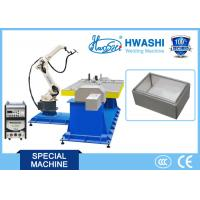 Buy cheap Metal Frame Automatic Welding Robot , Industrial Robot MIG Welding Machine 3400W product