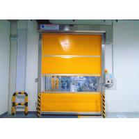 China Industrial 304 Stainless Steel Frame High Speed Door For Internal and External Areas on sale