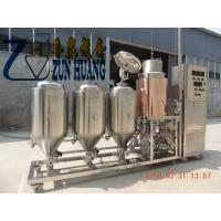 Buy cheap 50L-100 L micro brewing equipment,mini home brew machine for home product