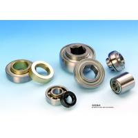 Chrome Steel Agricultural Bearings With Cast Iron Housing And Round Bore
