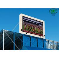 Buy cheap Outdoor SMD and SMD P6  Commercial RGB Led display Led Video Screen water proof cabinet product
