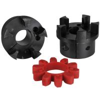 China Black Air Compressor Components , Iron Air Compressor Coupling on sale