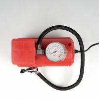 Buy cheap Red Vehicle Air Compressors Mini Air Pump Dc 12v 10ft Cord For Car  Bicycle product