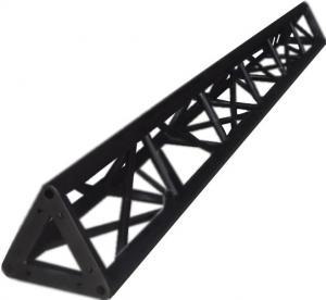 Buy cheap Non Rust Aluminum Black TB300mm*300mm*3000mm Triangle Lighting Truss product