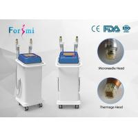 Buy cheap Two kinds of head for RF output fractional rf microneedle machine radio frequency facial treatment benefits product