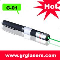 Buy cheap 5mw Green Laser Pointer Pen Mid -Open  Bean Light High Power 532nm With 5 MILE RANGE Made In China product