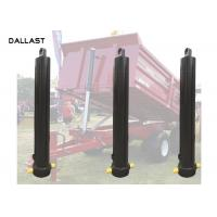 Buy cheap 30 Ton Single Acting Hydraulic Cylinder 3 4 5 Stage Long Stroke Type One Year Warranty product