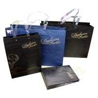 Buy cheap Gift Crafts Recycled Paper Bags With Handle , Paper Grocery Bags product