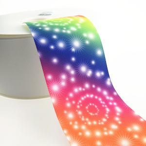 Buy cheap Wholesale sublimation heat transfer print night sky design fantastic star ribbon product