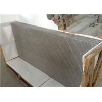 Granite Pattern Grey Rock Quartz Stone Slabs For Solid
