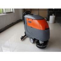 Buy cheap Low Noise Cleaning Width Battery Powered Floor Scrubber Not  For Soft Carpet from wholesalers