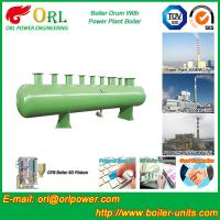 China 100 ton SA516 GR70 boiler mud drum for natural gas industry on sale