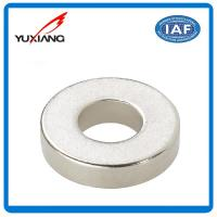 China Advanced Technology Super Strong Neodymium Magnets Ring Shape Customized on sale