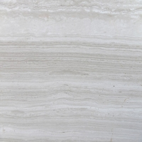 Buy cheap Customized Size 2.6 Density 30mm White Wood Vein Marble product