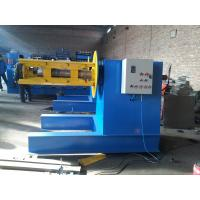 Buy cheap 5 / 6 Tons Hydraulic Decoiler Machine 4KW Hydraulic Motor For Loading Steel Coils product