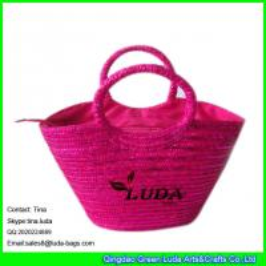 Buy cheap LUDA designer wheat straw beach bag sequins lady straw beach bags product
