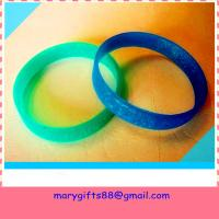 Buy cheap best selling blank rubber silicone bracelet bangles product