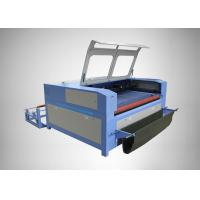 Buy cheap Water Cooling Fabric CO2 Laser Engraving Machine High Speed For Autocar Seat Cover product