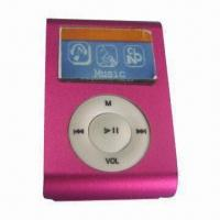 Buy cheap Voice Recording MP3 Player, Convenient, Clip-on Design  product