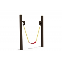 Buy cheap Safe Two Stands Eva Commercial Belt Swing Seat With Chain from wholesalers
