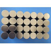 China Hot Sale Good Quality Customized Small Size Disc Sintered Ndfeb Magnete on sale