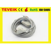 Buy cheap Medical Grade TPUBurdick ECG Cable With Integrated 10 Leadwires DIN3.0 AHA from wholesalers