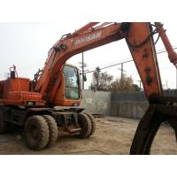 Buy cheap Used Wheel Excavators DOOSAN 140W-V product