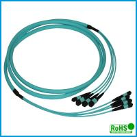 Buy cheap High Performance MPO Fiber Optic Cable With Multi - Cores PVC Jacket product