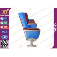Buy cheap Air Bus Boeing Air Craft Type Folding Table Theatre Seating Chairs By Aluminum Alloy Structure product