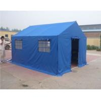 Buy cheap Civil Affairs Emergency Outdoor Canvas Tent / Military Wall Tent With PVC Fabric product