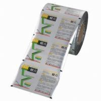 Buy cheap PET Plastic Laminating Film Roll Self adhesive Polyester Roll Film product